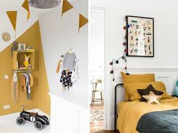chambre timeo jaune moutarde deco chambre d enfant chambre timéo