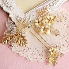 hair accessories wholesale aliexpress buy 3pcs lot korean fashion gold comb
