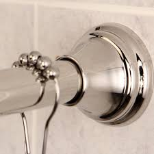 Tension Shower Curtain Rod Kingston Brass Edenscape 72 Adjustable Tension Shower