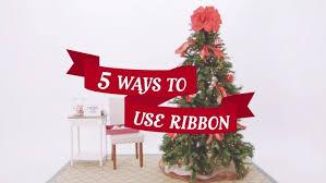 christmas ribbons and bows christmas best christmas tree ribbon ideas on diy bows