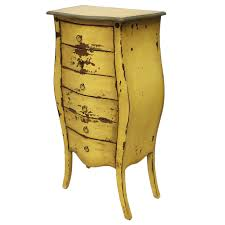 Schlafzimmer Antik Look Vintage Kommode Antik Look Schubladenschrank Gelb Massiv Shabby
