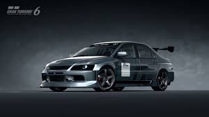 mitsubishi evo rally car mitsubishi lancer evolution ix gsr touring car u002705 gran turismo