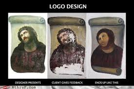 Monkey Jesus Meme - retail hell underground the botched jesus fresco makes meme