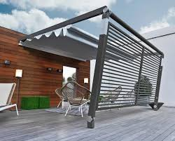 Sun Awnings For Decks Creating A Warm Deck Or Patio Space For Winter