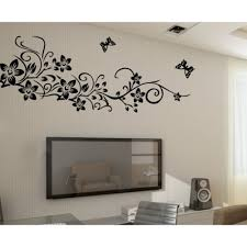 removable wall decals vines color the walls of your house removable wall decals vines vine butterfly wallpaper mural removable wall stickers diy