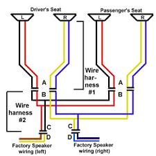 car speaker wiring diagram car wiring diagrams instruction