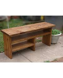 here u0027s a great deal on tall rustic boot cubby bench entryway