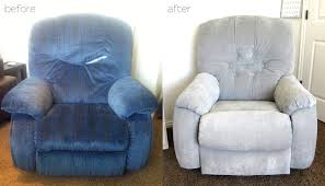 Blue Reclining Sofa by How To Reupholster A Reclining Sofa 75 With How To Reupholster A