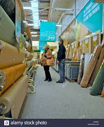 Carpetright Laminate Flooring Interior Of A Carpet Store This Is Carpetright Stock Photo