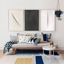 Posters For Living Room by Minimalism Modern Arts Picture Scratches Canvas Painting Nordic