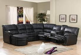 bonded leather sectional sofa 4 pc black bonded leather sectional sofa with recliners and chaise