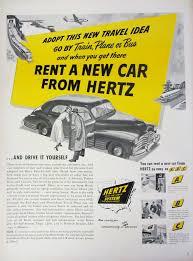 Hertz Car Rental Fort Lauderdale Cruise Port 1956 Ringling Circus Winter Quarters Sarasota Florida Clown Avis