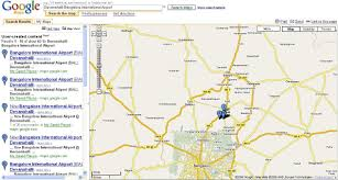 Map My Route Google by Bangalore International Airport Review With Route Maps