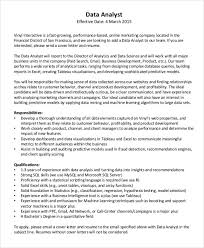 health data analyst cover letter