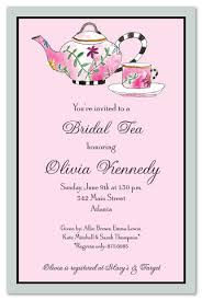 brunch invitation sle fabulous bridal tea shower invitations myexpression 19829