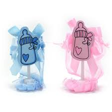 maple craft baby shower favor bag with stand pack of 12