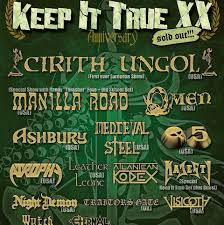 Baden It Concerts Metal Calendar Keep It True Festival 2017 28 04 2017