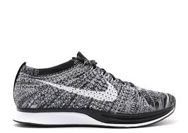 flyknit racer oreo nike 526628 012 black white flight club