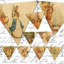 rabbit banner free vintage rabbit banner twenty four 4 5 x 4 inches