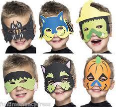 Spider Witch Halloween Costume Children U0026 039 Halloween Foam Face Mask Spider Bat Witch