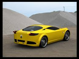 renault yellow 2009 renault new alpine concept design by marcello felipe yellow
