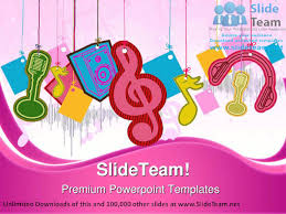 music symbol powerpoint templates themes and backgrounds graphic