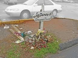 roadside crosses for sale crosses flowers and asphalt roadside memorials in the us south