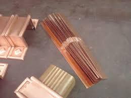 squaremont ornamental decorative copper downspout bands