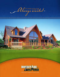 large log home floor plans honest abe log homes floor plan catalog by honest abe log homes