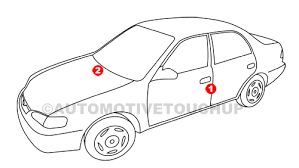 mazda paint code locations touch up paint automotivetouchup