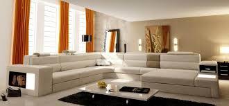 Orange Leather Sectional Sofa Rexona Orange Leather Sofa Sectionals