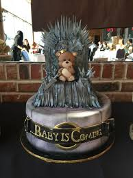 game of thrones baby shower cake game of thrones baby shower