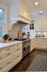 Kitchen Cabinets In White Kitchen Cabinets In White Wolf Stove Subway Tiles And Oven