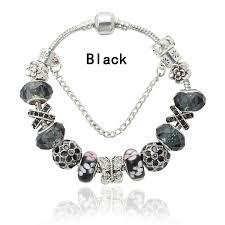 color charm bracelet images Viovia new fashion design red crystal bracelet antique silver jpeg