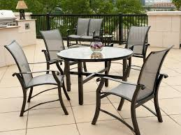 replace glass patio table top with wood metal patio table large size of and metal patio table round wooden