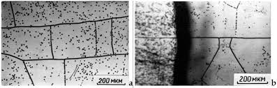 some features of growing single crystals of refractory metals from