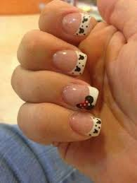lovely cartoon themed nails for the week mickey mouse nails