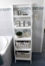 bathroom trendy light colored small bathroom storage ideas