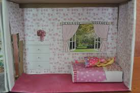 How To Make A Small Curtain Diy Small Doll Bed Be A Fun Mum