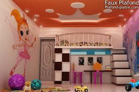 décoration plafond chambre bébé faux plafond chambre enfants faux plafond design