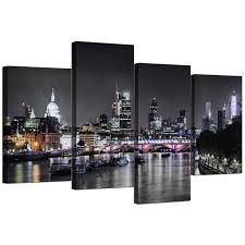black and white canvas pictures prints u0026 wall art free delivery
