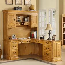 Oak Desks For Home Office by Furniture Wonderful L Shaped Computer Desk With Hutch For Home