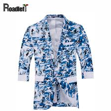 Mens Half Sleeves - aliexpress com buy fashion camouflage floral print blazers
