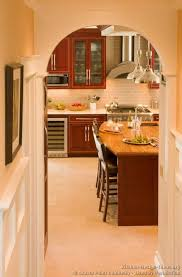 Traditional Kitchen Design Ideas 90 Best Cherry Color Kitchens Images On Pinterest Cherry Kitchen