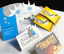 awesome custom die cut business card best business card inspiration