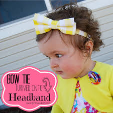 tie headbands bow tie headband tutorial girl glam