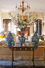 Chinese Living Room Chinese Chinoiserie Vase Blue And White Decorating Branches Living