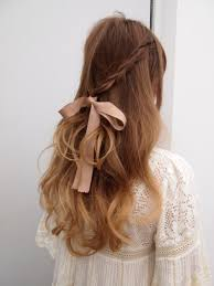 ribbon for hair styling ideas based on ribbons