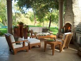 Patio Coffee Table Ideas Beautiful Patio Decorating Ideas With Roof Adjacent To Grass