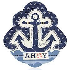 anchor baby shower ahoy nautical baby shower decorations theme babyshowerstuff